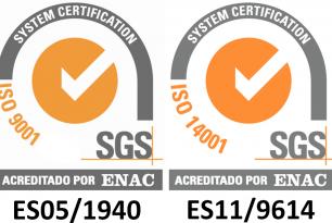 SGS 9001 y 14001